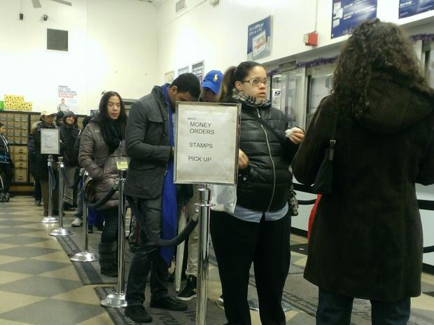 Long lines, lost packages and undelivered mail plague Postal Service, residents say.