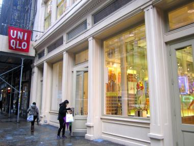 Customers will get free iced matcha lattes and other signature drinks at the Uniqlo store in SoHo throughout the month of September.