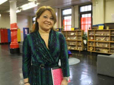Principal Carmen Toledo-Guerrero of P.S. 25 in The Bronx uses her personal journey to inspire students.