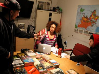 The Rebel Diaz Arts Collective plans to run a community library out of its Mott Haven headquarters.