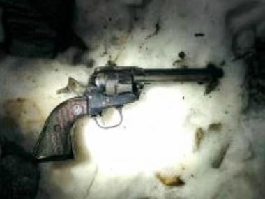 After shooting a 16-year-old in Brownsville, cops recovered a Ruger revolver they said he had been fired off a roof on Monday Feb. 11, 2013.