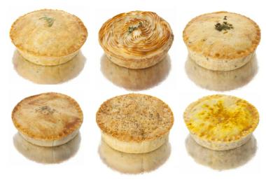 The brewery will start serving artisanal meat pies from the Savory Pie Guy on Thursday.
