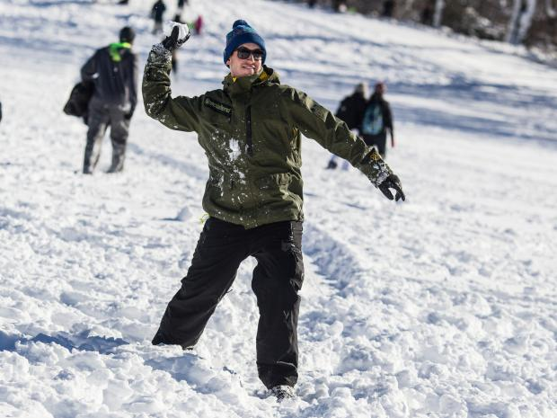 Join in on a snowball fight in Central Park to break the Guinness World Record of biggest snowball fight and to raise funds to fight homelessness.