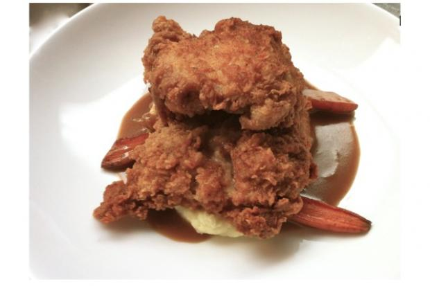 Seersucker on Smith St., is hosting their second annual fried chicken fundraiser for the P.S. 58's vegetable garden.