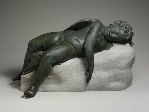 A new exhibition at the Metropolitan Museum of Art shows Eros in an uncommon repose.