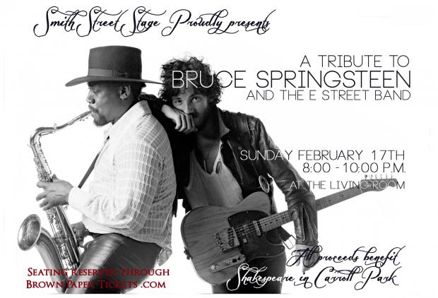 A theater group based in Carroll Park will perform a tribute concert to Bruce Springsteen and the E Street Band.