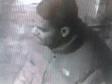 Police are looking for a suspect they say mugged a 90-year-old man inside a clothing store at 680 Melrose Ave. in the South Bronx on Feb. 16, 2013.