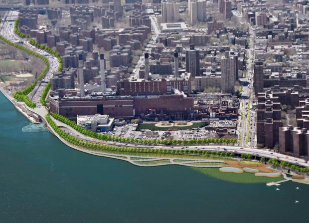 Manhattan Borough President Scott Stringer released plans to fortify the waterfront against storm surges.