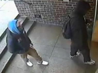Cops are looking for two men they say robbed three homes around Gramercy in January 2013.