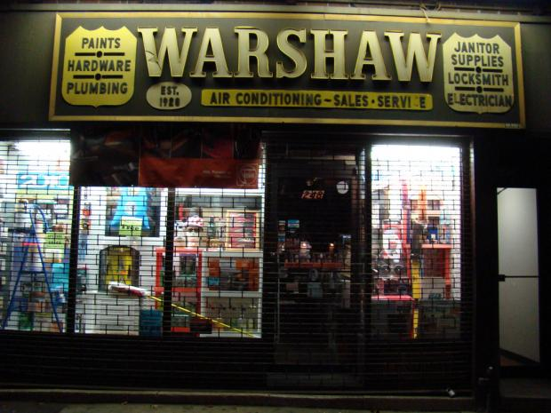 O. Aldon James is suing Warshaw Gramercy East Hardware for changing the locks to his club apartments.