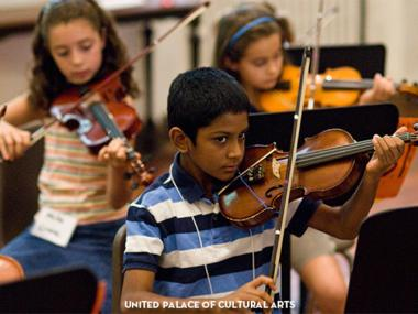 The WHIN Youth Orchestra has already performed at several community events.