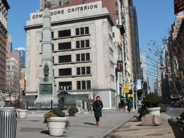 Market-lovers and food-cart cravers, rejoice.  The Parks Department  is exploring inviting vendors to set-up shop from spring to fall in  Worth Square , a thimble-size plaza adjacent to  Madison Square Park .