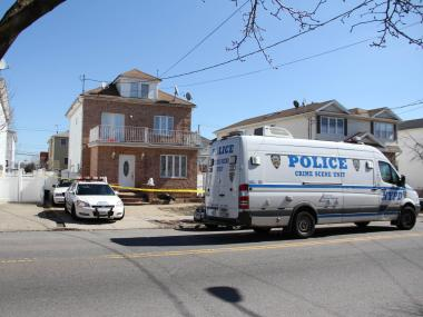 Christopher Bonafede, 39, was shot and killed in his home at 471 Ridgewood Ave. by his girlfriend, Lisa McQuade, 38, on Sunday night, police said.