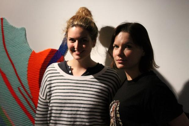 Jackie Cantwell and Molly Myer started the Bishop as both a gallery and their final thesis.