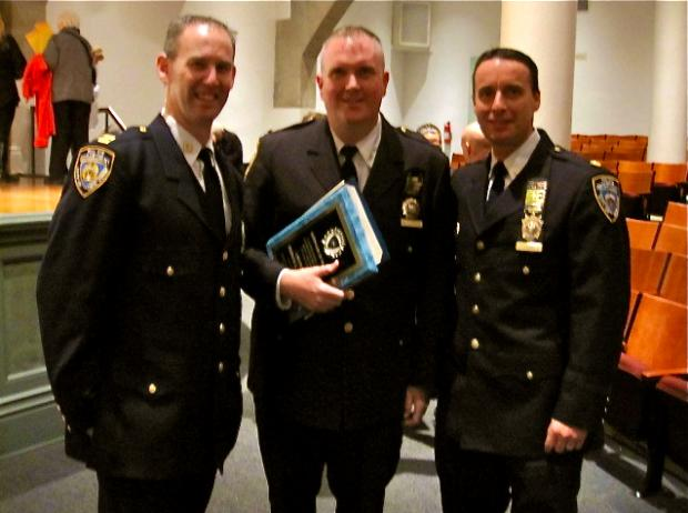 Capt. Brendan Timoney, previously the executive officer with the East Village's Ninth Precinct, is now the First's top cop. He replaces Capt. Edward WInski, who served at the 1st Precinct's since 2010.
