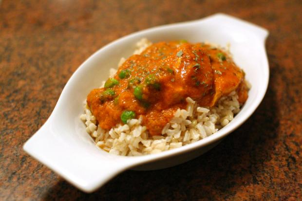 This delicious recipe puts a low-fat twist on an Indian classic.