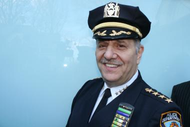 Joseph Esposito, the NYPD's current Chief of Department, will retire Wednesday.