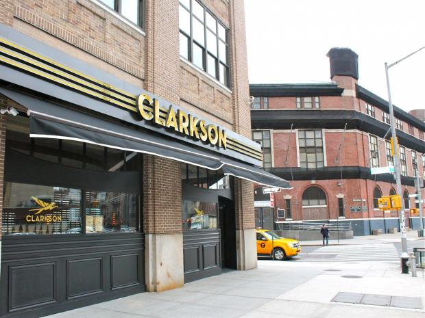 The American bistro Clarkson opened on Varick Street at Clarkson Street Wednesday, March 6, 2013.