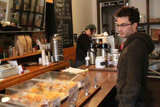 Baristas will deliver your food to the Classon Avenue G station three mornings a week.