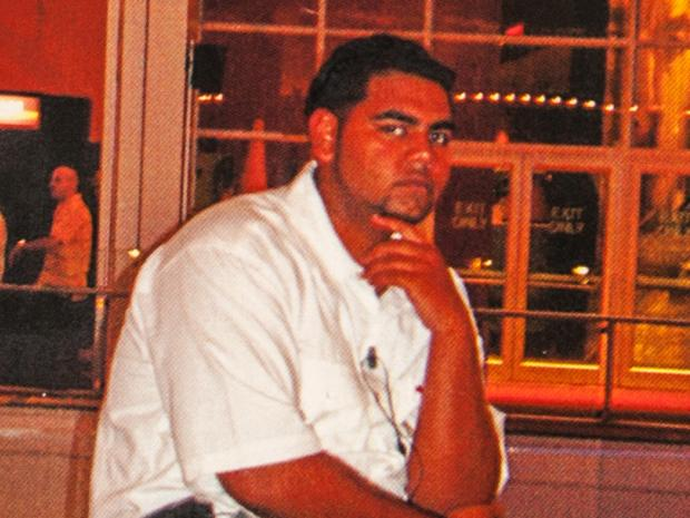 Queens bouncer Kristian Sorbera was set to be charged with murdering Deosarran Ramdular after brutally pummelling him outside a Richmond Hightclub on March 19, 2013.
