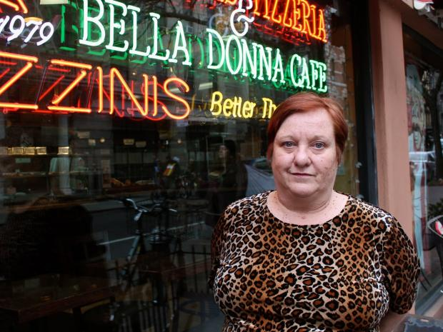 The current co-owner of Famous Ben's Pizza of SoHo says founder Debbie Aliotta violated an agreement they made in which she agreed not to sell slices near Famous Ben's so as to not compete with the business.