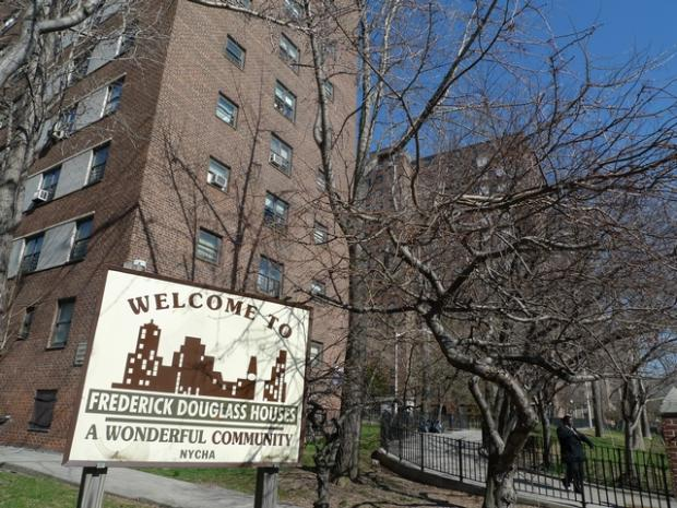 Residents oppose a NYCHA plan to develop three new market rate buildings on the housing site.