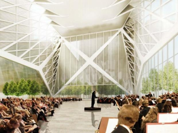Members fear the broad definition could lead to the Shed becoming a satellite for the Javits Center.