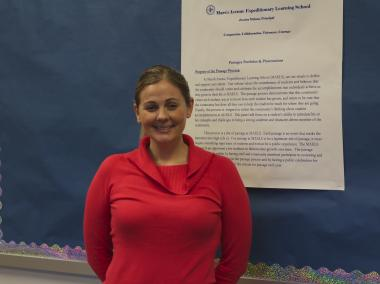 Principal Jessica Milona wrote the proposal and started the Marsh Avenue School for Expeditionary Learning, which opened in 2008. The school focuses on giving students hands-on, interactive, learning experiences.