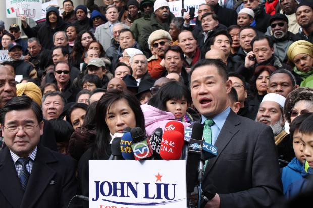 John Liu Launches Campaign for Mayor
