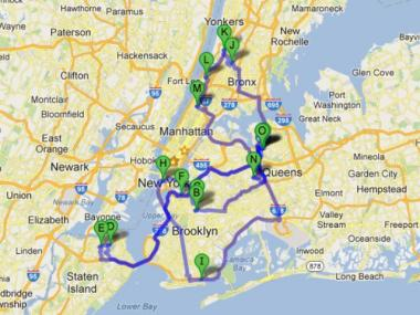 John Liu kicked off his campaign with a marathon through the boroughs that spanned more than 137 miles and more than a dozen stops.