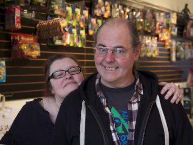 Hypno-Tronic Comics, set to open this weekend, will sell an eclectic mix of pop-culture merchandise.