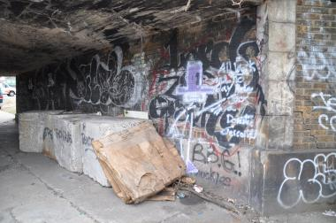 The city plans on bricking up a tunnel connecting two Bushwick streets under the elevated L train.