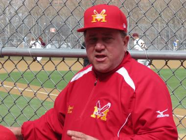 Mike Turo has been coaching baseball at Monroe HS in the Soundview section of the Bronx for 36 years.
