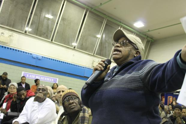 Residents are angry with a NYCHA plan to build three new developments within the public housing campus.