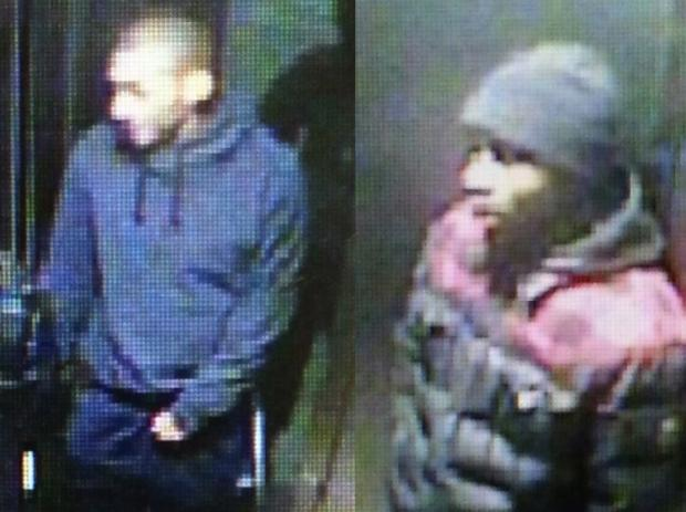 Police are looking for three men in connection with a robbery at the Union Street and Fourth Avenue stop.