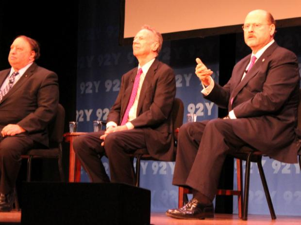 At a debate on Thursday, March 21 2013, Republican mayoral hopefuls said they would ship trash to New Jersey.