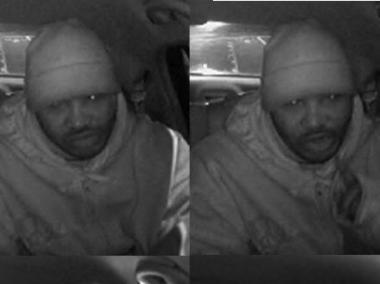 Police say this man slashed and robbed a livery cab driver in West Farms last Thursday.