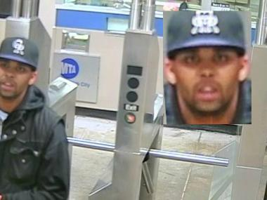The suspect robbed her within the Church Avenue subway station.