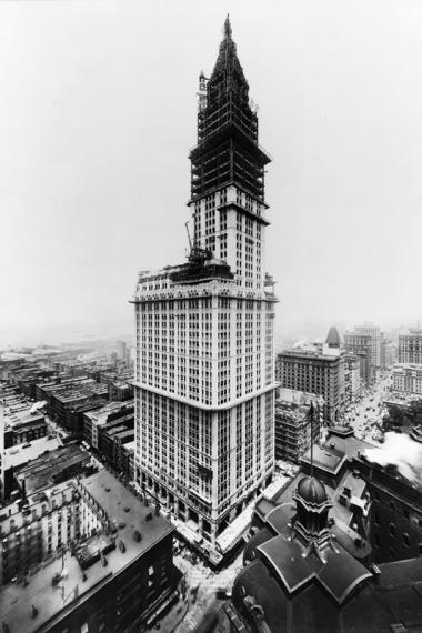 The Skyscraper Museum is celebrating the Woolworth Building's centennial with a special exhibit.