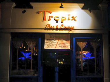 Tropix Bar and Lounge is located at 95-32 Queens Boulevard, across the street from the Rego Center Shopping Mall.