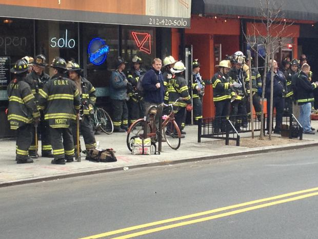 Croxley Ales at 28 Avenue B was evacuated Tuesday afternoon.