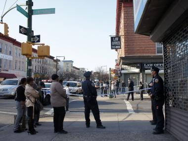 Martin Williams, 42, was found shot dead in a van in Prospect-Lefferts Gardens April 9, 2013.
