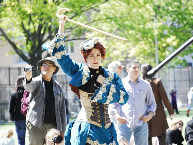 The 19th Century Extravaganza will feature a fashion show, flying machine contest, and demonstrations of bartitsu, a Victorian-era martial art.