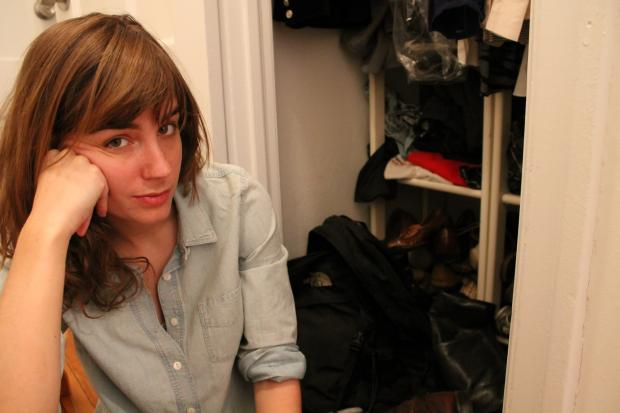 DNAinfo.com's Apartmentality columnist, Elizabeth Wolff, documents her one-day speed closet cleanse. She throws out 45 items and lives to tell the tale.