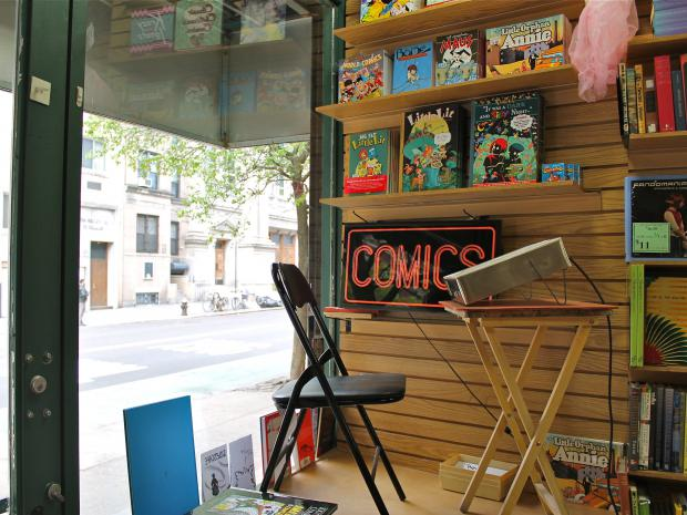 The countercultural bookshop has leased about a third of its space to a new comic book shop, the owners of both stores said Monday.