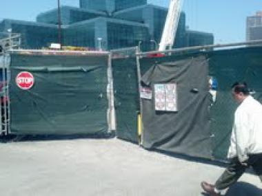 A worker was injured at a construction site near the Javits Center, FDNY said.