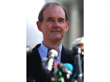 Same-sex marriage attorney David Boies, seen here outside the U.S. Supreme Court on March 26, 2013, will deliver NYU's commencement address May 22, 2013, the university announced.
