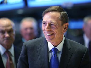 Former CIA Director David Petraeus walked the floor of the New York Stock Exchange to ring the opening bell on Sept. 18, 2012 in New York City.