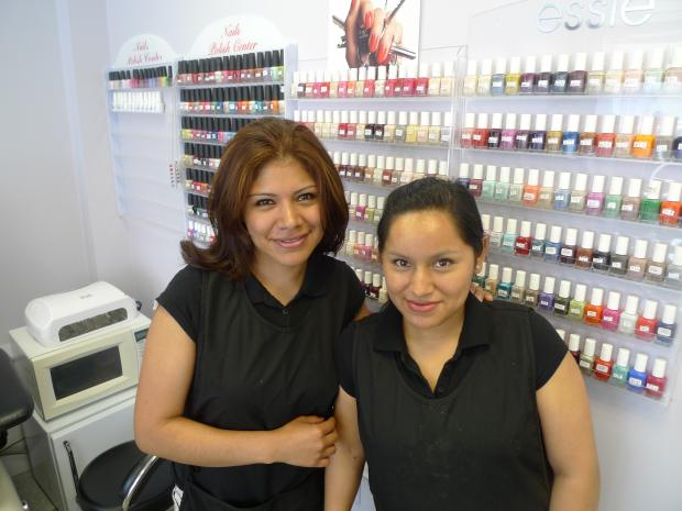 Two employees of Sister's Nails bought the salon with their savings.