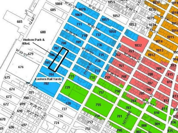 The BID would tax properties west of Ninth Avenue in exchange for a variety of services.